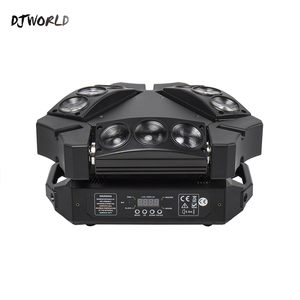 Image 1 - Mini LED Beam 9x10W Spider DMX512 Stage Effect Lighting Good For DJ Disco Party Dance Floor Nightclub And Christmas Decorations