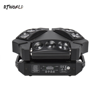 Mini LED Beam 9x10W Spider DMX512 Stage Effect Lighting Good For DJ Disco Party Dance Floor Nightclub And Christmas Decorations djworld led 5x30w rgb matrix dmx512 stage effect lighting for dj disco party dance floor nightclub bar and wedding decoration