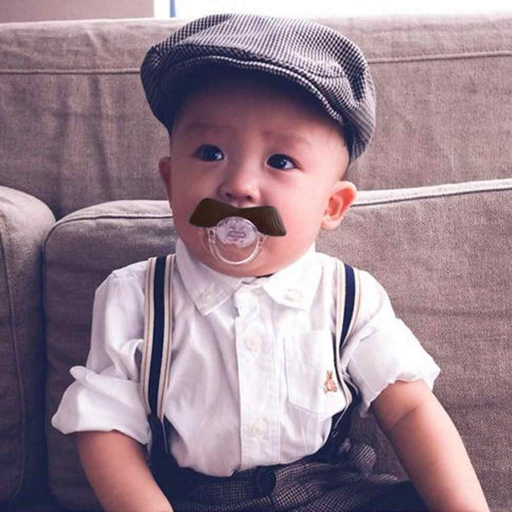 держатель для соски Toddler Infant Baby Kids Pacifiers Funny Nipple Joke Teething Teat Baby Care soother clip pacifier clips A40