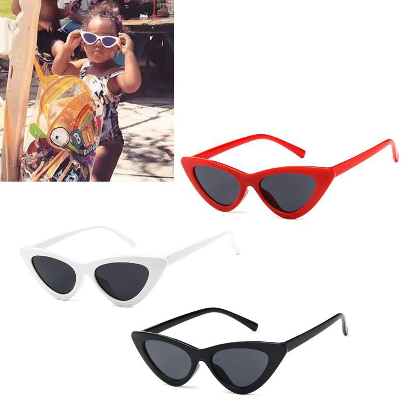 Cat Eye Kids Sunglasses Fashion Brand Child Sun Glasses Anti-uv Baby Sun-shading Girl Boy Sunglass