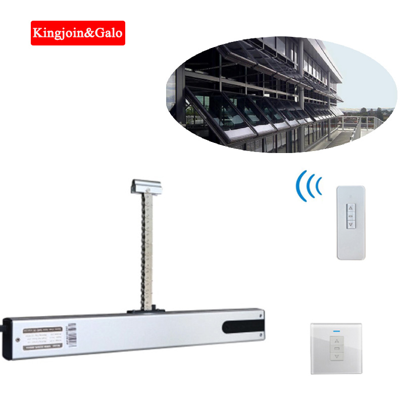 Supply Cooperation Electric Window Opener Office Building Window Opening Device Home Automatic Window Opener 400mm Adjustable