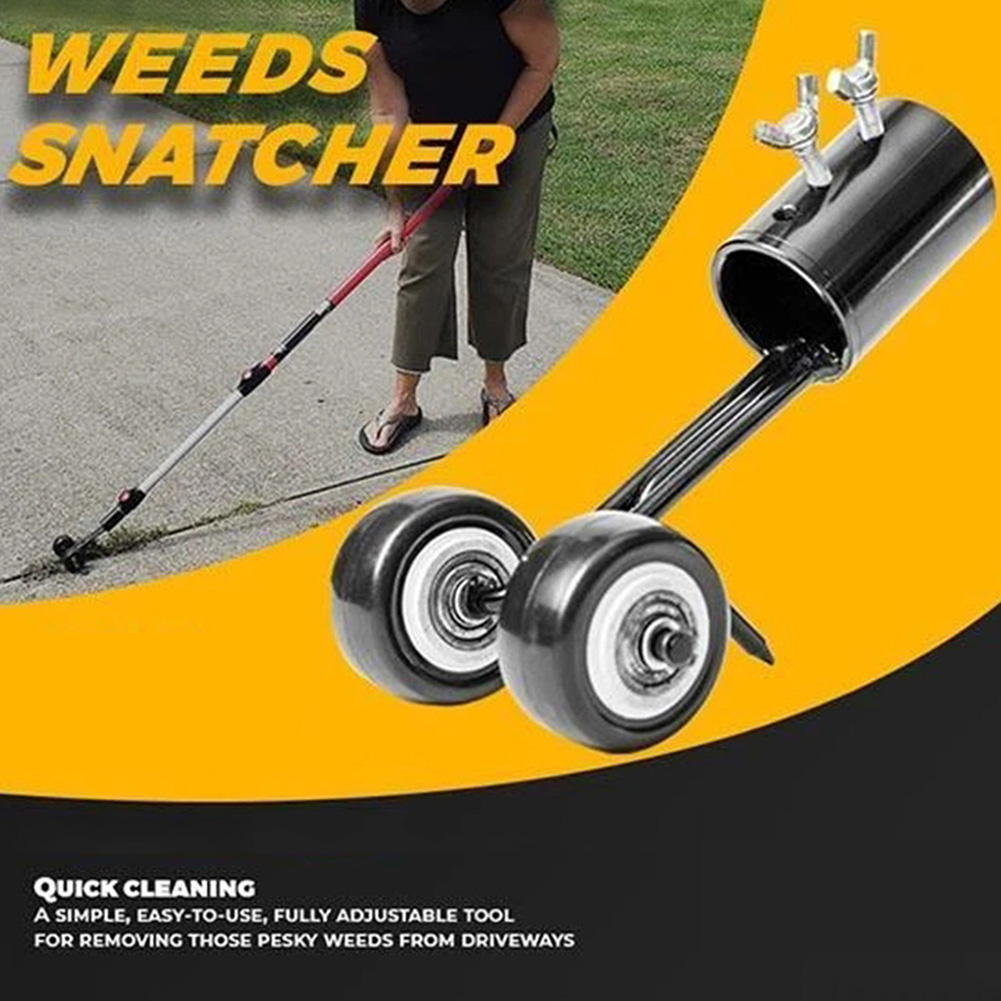 No Bending Weeds Snatcher Weeding Head Garden Weed Razors Grass Cutter Trimming Machine Home Garden Tool Lawnmower Grass Trimmer