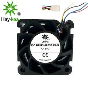 Image 3 - 12V pwm 4028 soğutma fanı 40mm 40*40*28 yüksek hızlı endüstriyel sunucu invertör soğutma fanlar çift bilyalı rulman