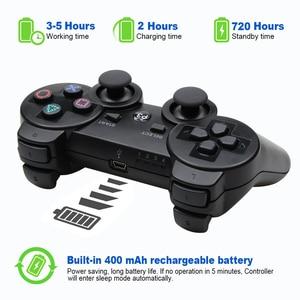 Image 3 - 블루투스 컨트롤러 소니 PS3 게임 패드 플레이 스테이션 3 무선 조이스틱 소니 플레이 스테이션 3 PC SIXAXIS Controle
