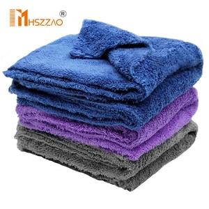 Image 1 - 40x40cm Extra Soft Car Wash Microfiber Towel Car Cleaning Drying Cloth Car Care Cloth Detailing Car WashTowel Never Scrat