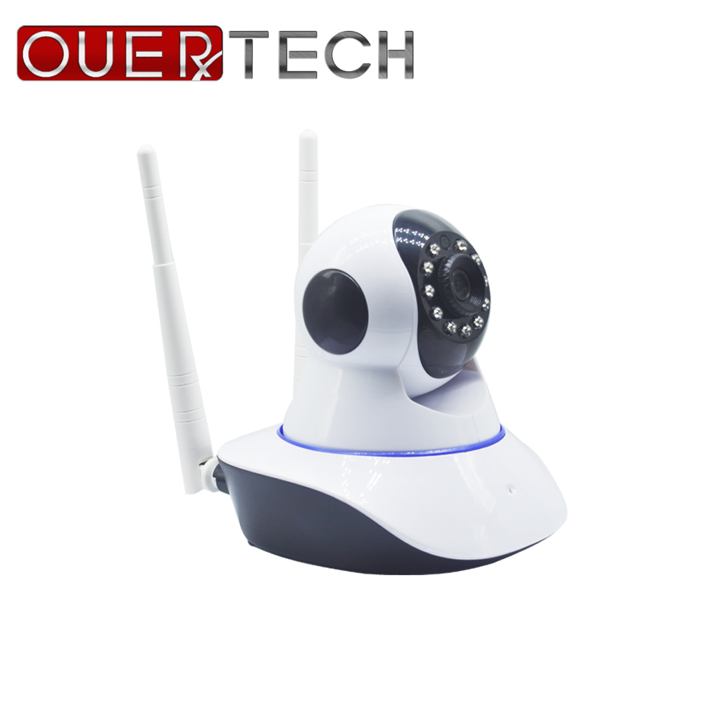 OUERTECH  Two Way Audio Night Vision 1080P Wireless Rotating Smart IP Camera Support PTZ Control Remote Access 64g Baby Monitor