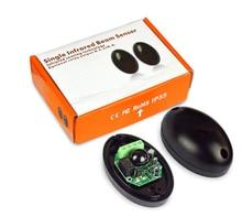 Detector inalámbrico automático IP65 por haz infrarrojo, Sensor de oscilación, puerta de garaje, fotocélula infrarroja de seguridad para puerta