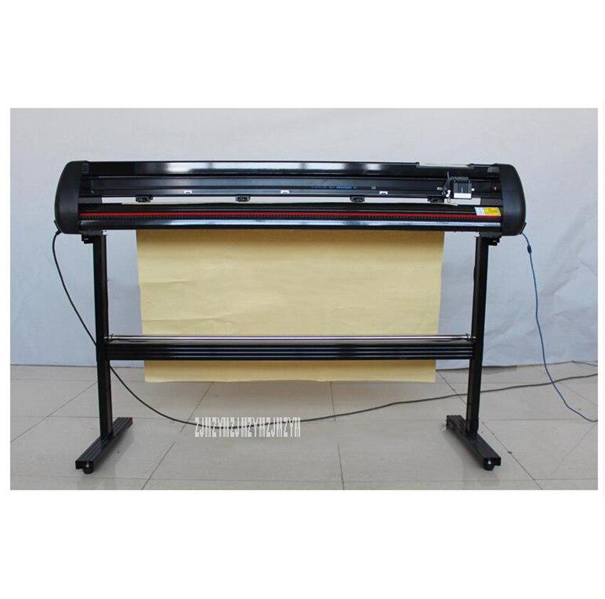 KY-1350T vêtements pochoir stylo dessin traceur vêtement CAD modèle impression traceur Max traçage largeur 123cm manuel papier alimentation