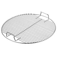 Big Size Round Nonstick Stainless Steel Barbecue Mesh BBQ Grill Grid Net for Kitchen Camping