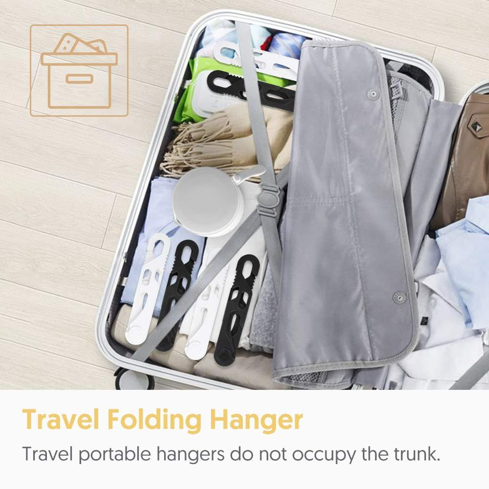 Portable Folding Clothes Hangers Super Bearing Collapsible Hanger Clothes Drying Rack for Travel Indoor and Outdoor Use 6 Packs in Outdoor Tools from Sports Entertainment