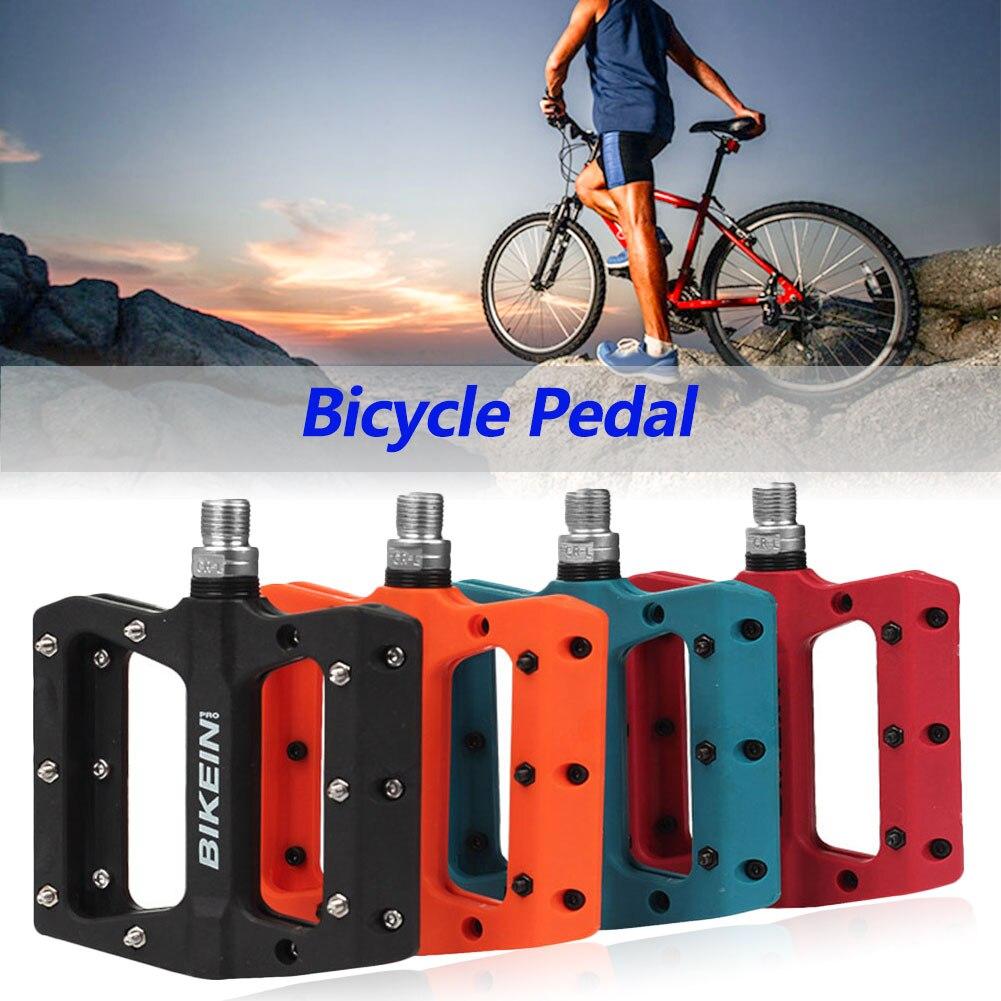 4 цвета, ультра-светильник, rockbros, педалей для велосипеда, педали для велосипеда, нейлоновое волокно, большой ножной подшипник, педали для вел...