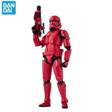 150mm Bandai Star Wars Sith Trooper Stormtrooper Red soldier Action Figure Collection toys for christmas gift with box(China)