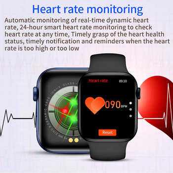 2021 IWO Smart Watch Men Women Series 6 Heart Rate Monitor Sport Smartwatch 44mm Fitness Bracelet Clock For Iphone Xiaomi Huawei 3