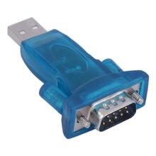 Entrada usb para rs232 9 pin db9, conversor usb para com adaptador hl-340 computador db9