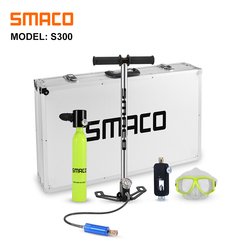 SMACO оборудование для дайвинга кислородный цилиндр набор мини-резервуар для подводного плавания набор оборудования для дайвинга
