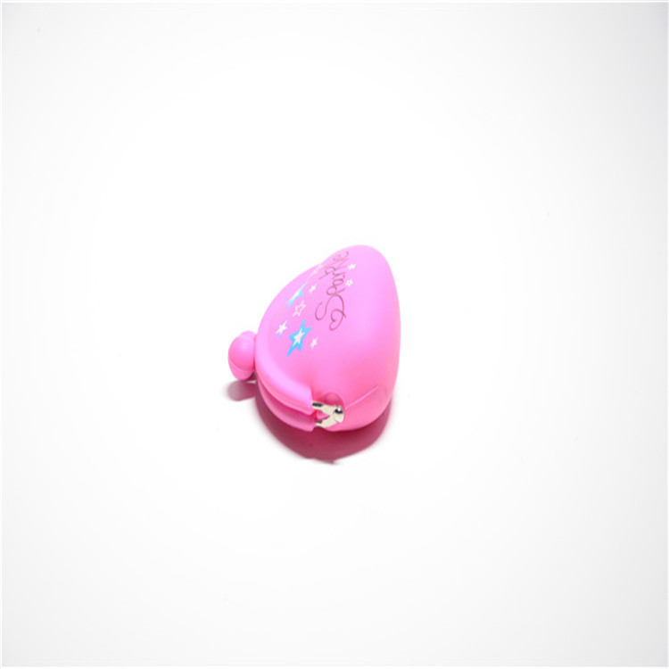 Korean-style Fashion Rainbow Candy-Colored Cute Soft Frog Mouth Shaped Bag Genuine Product Japanese-style Silicone Coin Purse