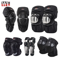WOSAWE Motorcycle Motocross Riding Knee Protection pads Shin Guard Brace Support Leg Warmer Skiing Skateboard Pad