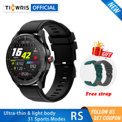 TICWRIS RS Smart Watch Men 31 Sports Modes IP68 Waterproof Bluetooth 5.0 Ultra-thin Women Smartwatch 2020 For Android IOS Phone