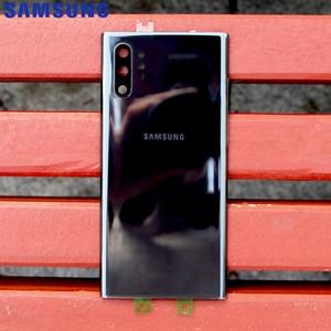 Image 5 - מקורי סמסונג זכוכית שיכון כריכה האחורית לסמסונג גלקסי הערה 10 הערה X Note10 בתוספת Note10 + טלפון אחורי סוללה דלת