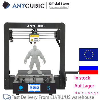 ANYCUBIC Mega-S 3D Printer I3 Mega Upgrade Large Size Metal frame TPU High Precision Touch Screen DIY 3D Printer kit impressora 1