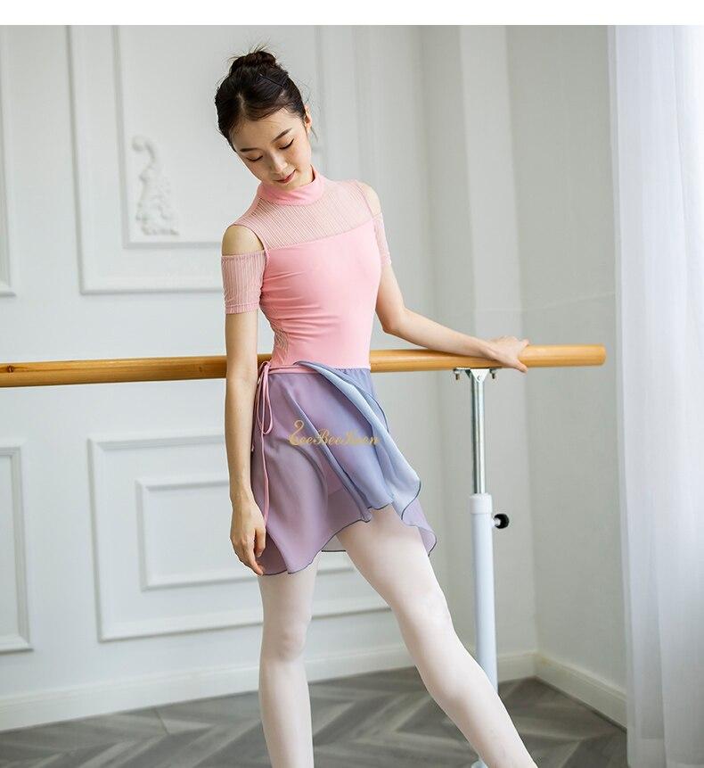 Adult ballet wear Chiffon Ballet Skirt Dance clothing Short Skirt Custom Ballet Skirt Pole Dance Skirt Chiffon Dance Skirt Yoga skirt
