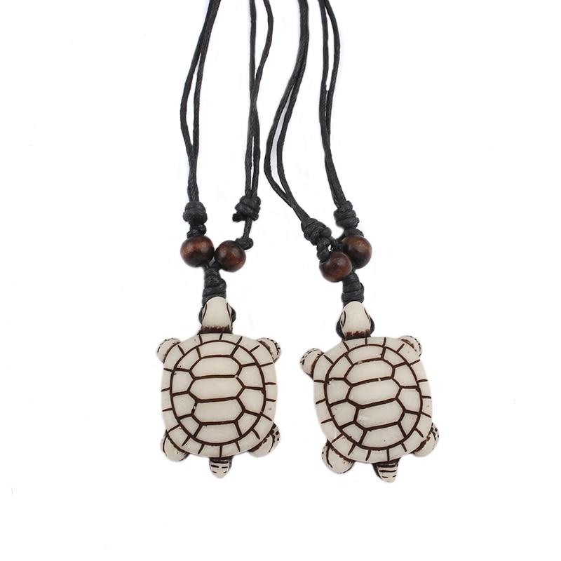 1pcs bele plemenske umetne jake kostne morske želve Havaji Surf - Modni nakit - Fotografija 5