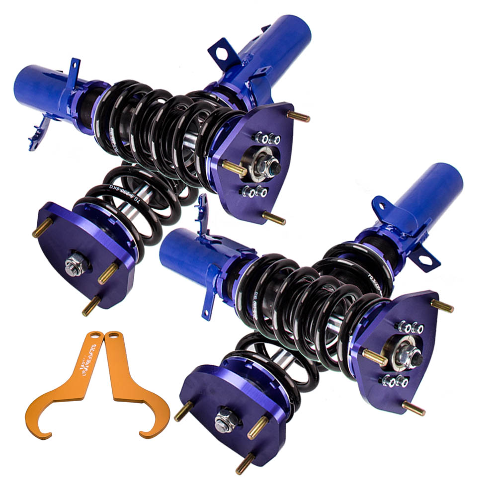 Coilover Spring Struts For <font><b>Toyota</b></font> <font><b>Corolla</b></font> 89-99 E90 E100 E110 AE111 Suspension for AE90 AE92 AE100 <font><b>AE101</b></font> AE111 88-99 1990 91 92 image