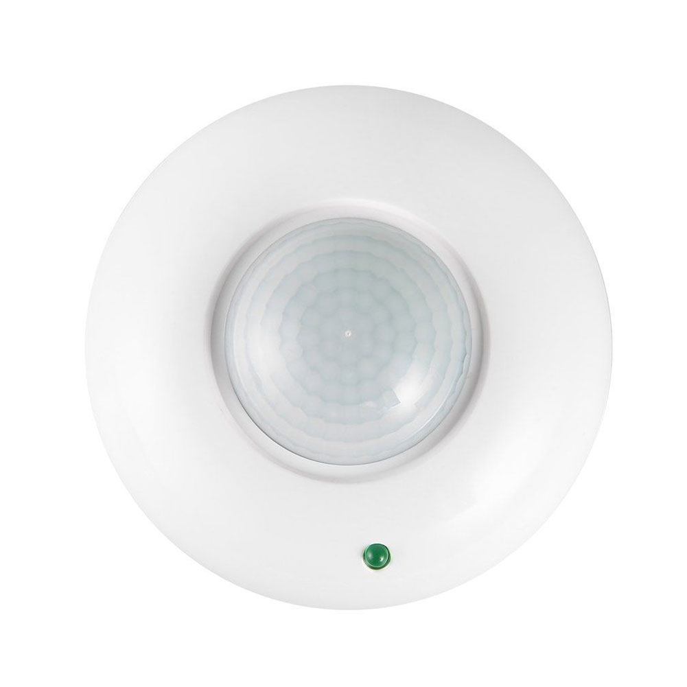 Infrared Mini Indoor Use Round Surface Mount Switch White Home Ceiling Body Induction Detector Led Alarm Motion Sensor Security