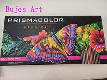 Novo original 12 24 48 72 132 150 eua prismacolor premier óleo cor lápis sanford lapiz colorido, lápis de cor água