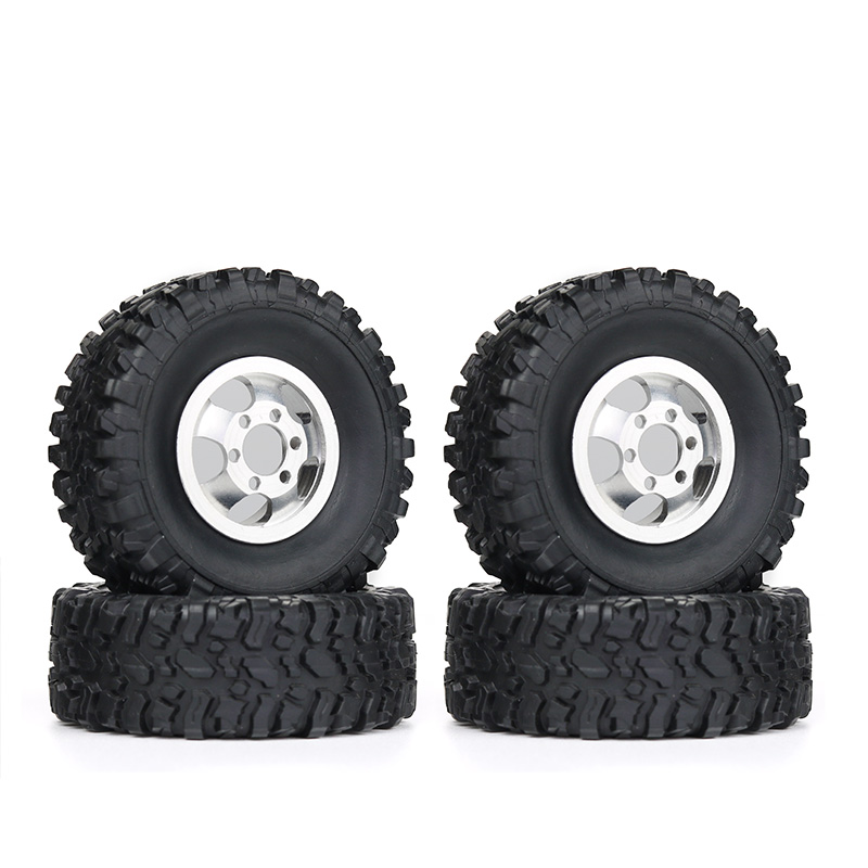 Upgraded metal <font><b>Wheel</b></font> WPL FJ40 C14 C24 B14 B24 B16 B36 <font><b>RC</b></font> Car 1/16 4WD 2.4G Military Buggy Crawler Off Road Vehicle Models Parts image