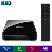 Mecool KM3 ATV Android 9.0 TV Box Google Certificated S905X2