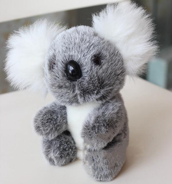 12 cm/18cm New Cute Small Koala Bear Plush Toys Adventure Koala Doll Children Simulation PlushToys For Boys Girls Birthday Gift