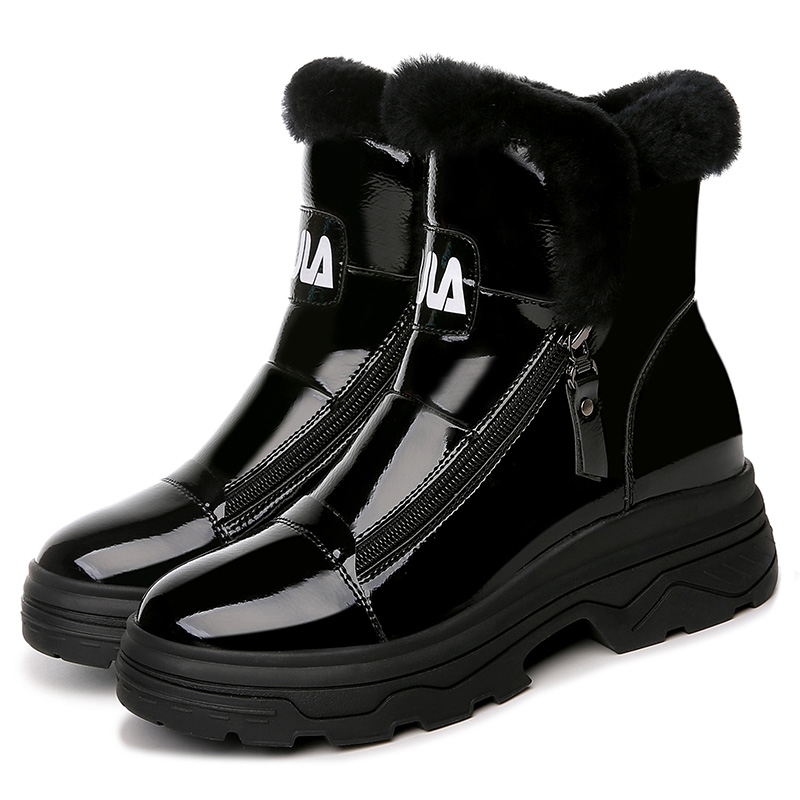MOOLECOLE Fashiong Winter Boots Women Keep Warm Women Boots