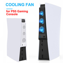 For Ps5 Console Playstation 5 USB External Host Cooling 3 FanCooler For PS5 Exhauster
