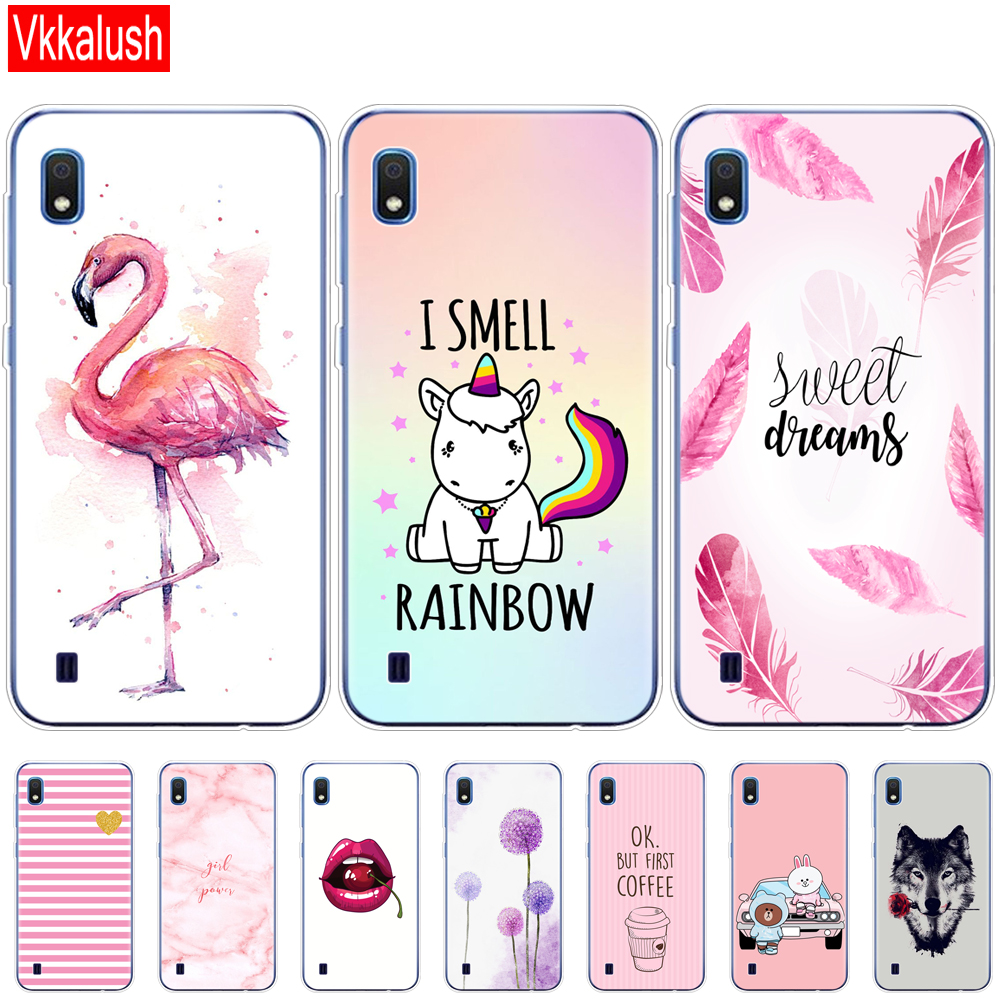 Case For Samsung A10 Case Soft Silicon Back Cover Phone Case For Samsung Galaxy A10 GalaxyA10 A 10 SM-A105F A105 A105F Animal