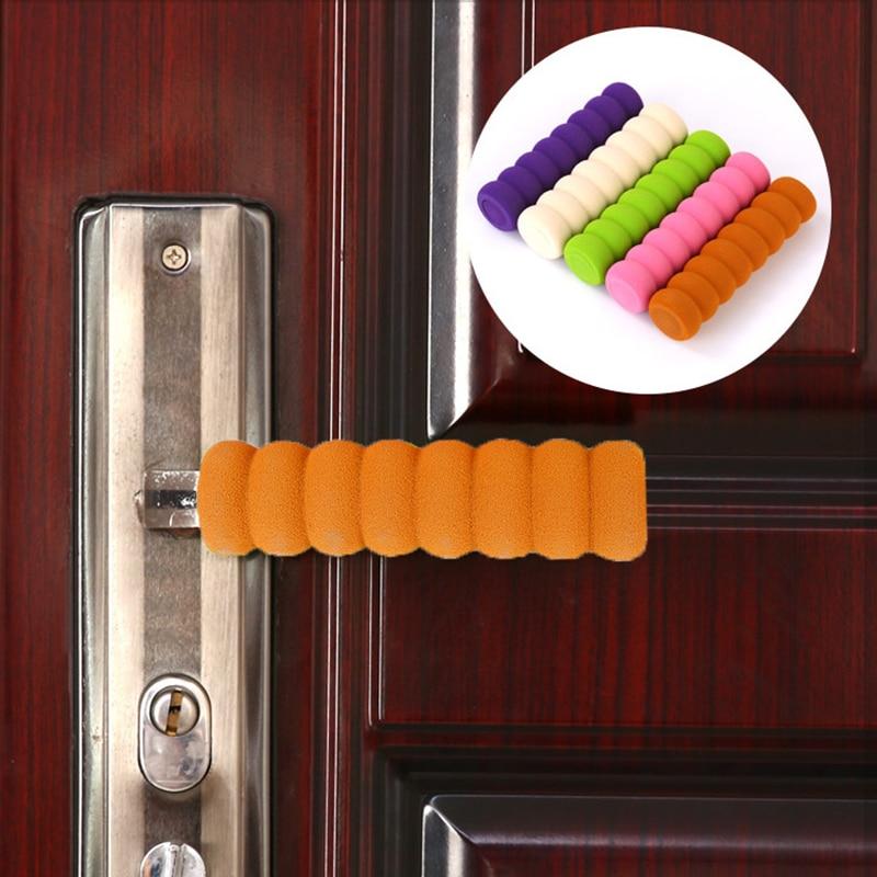 Spiral Door Handle Gloves Crash Protection Cover Children's Safety Door Handle Gloves Household Safety Bedroom Decoration