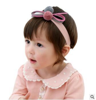Bola de Cabeça Faixas de Cabelo Ferramentas de Estilo de Acessórios para o Cabelo Lote Faça Você Mesmo Multi Tecidos Simples Cabeça Cabelo Bowknot Crianças Fotos Ha773 60 Pçs –