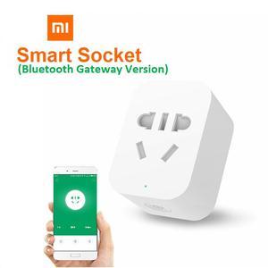 Image 1 - Xiaomi Mi Mijia חכם שקע תקע Bluetooth gateway או ZigBee גרסה אלחוטי מתגי טיימר WiFi על ידי Mi בית Mijia APP
