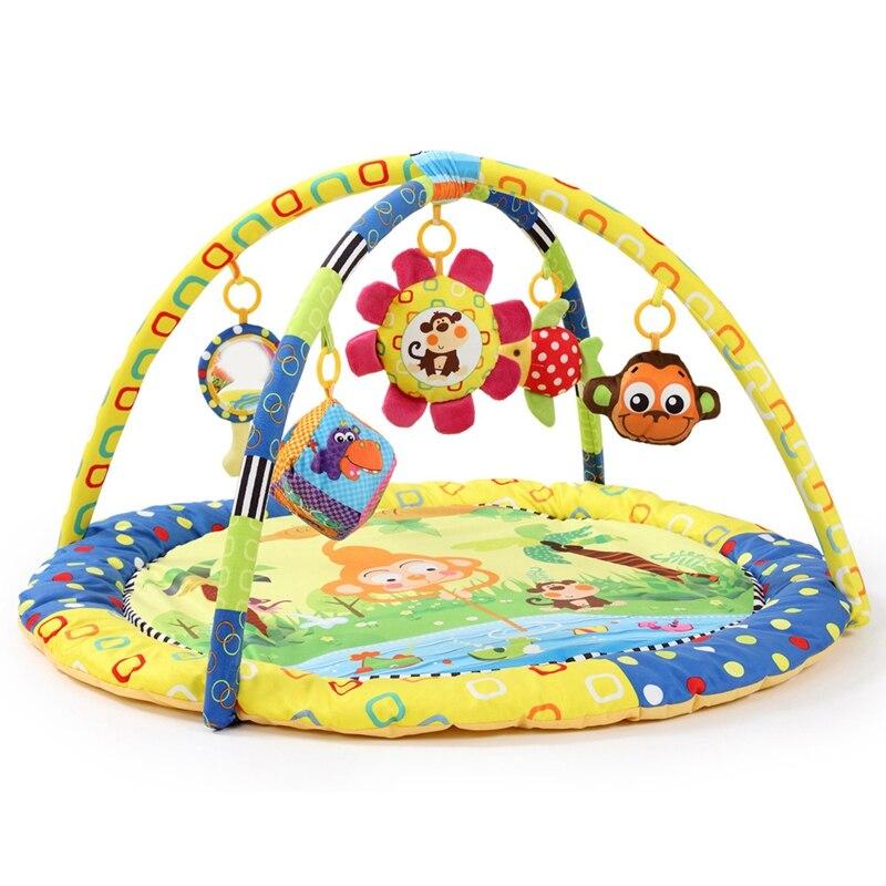 Monkey Game Pad Game Blanket Baby Toy Baby Gym Music Crawling Mat Crawling Blanket