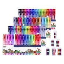 100 ручек + наполнителей Детские кисточки богатых цветов инструменты