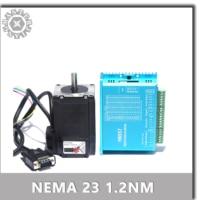 Motor paso a paso de circuito cerrado HBS57/DL57, 1,2nm, 57, circuito cerrado híbrido, Nema 23, 2 fases, 57, controlador de Motor paso a paso, 57HSE1.2N