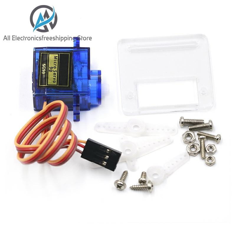 Smart Electronics 1Pcs Rc Mini Micro 9g 1.6KG Servo SG90 For RC 250 450 Helicopter Airplane Car Boat