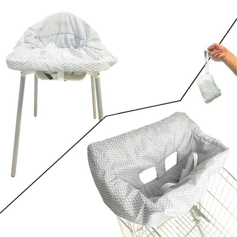 New Baby Children Supermarket Shopping Cart Seat Dining Chair Cushion Protection Safe Travel Portable Shopping Cart Cushion