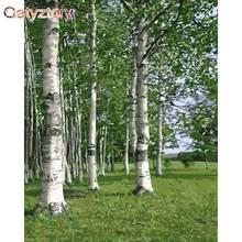 Gatyztory Раскрашивание по номерам лесом для взрослых наклейки