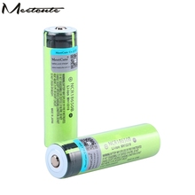 Meetcute  NCR18650B 3.7v 3400mah 18650 Lithium Rechargeable Battery For Flashlight batteries (NO PCB) цена в Москве и Питере