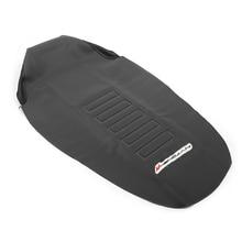 785 мм Резиновый захват мягкий чехол для сидения седло Подушка Кожа Нескользящая эластичная Водонепроницаемая Для KTM EXC EXCF 125 150 250 350 450