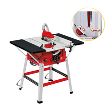 Multi-function Woodworking Cutting Machine 10 Inch Sliding Table Saw Push Plate Saw Angle Cut Circular Saw 220/110V