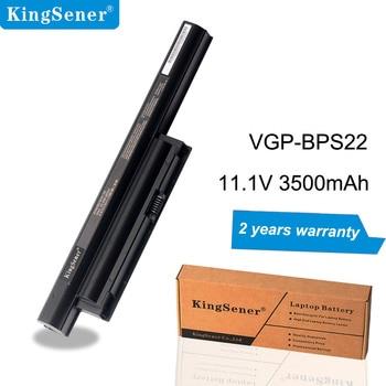 цена на Japanese Cell KingSener VGP-BPS22 Laptop Battery for SONY VAIO VGP-BPS22A VPC-EA1 EA18 EA16 EA31 PCG-71212t 71211T 61211T 61212T