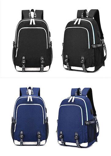 Fashion Kpop stray kids Backpack good quality multifunction USB charging earphone Jack backpack large capacity Kpop schoolbag