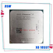 Procesador de CPU AMD Phenom II X6 1055T, X6 1055T, 2,8G, 95W, seis núcleos, HDT55TWFK6DGR, enchufe AM3